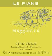 2016 Le Piane 'Maggiorina' Vino Rosso - Piedmont, Italy (20261)