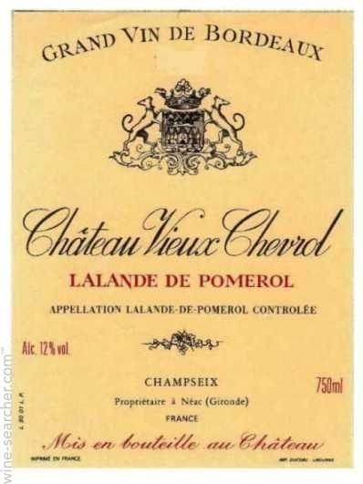 Chateau Vieux Chevrol 2015 - Lalande de Pomerol (4036)