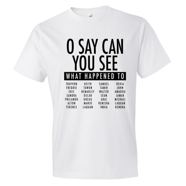 O SAY CAN YOU SEE?