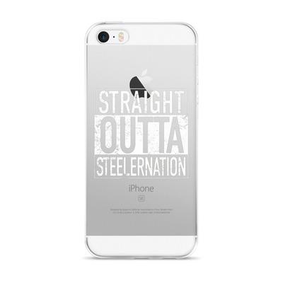 STRAIGHT OUTTA STEELERNATION iPhone case