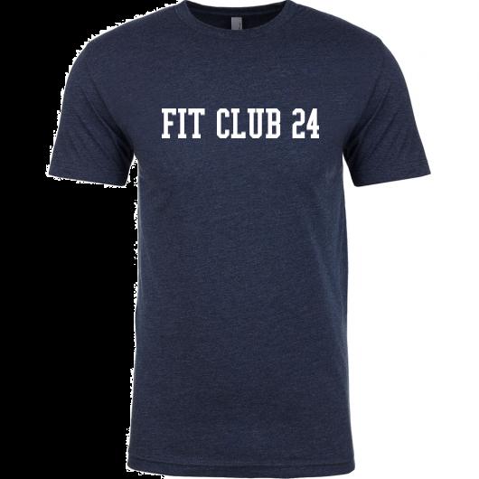 Navy Fit Club 24 Tee