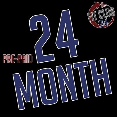 Pre-Paid 24 Month Membership