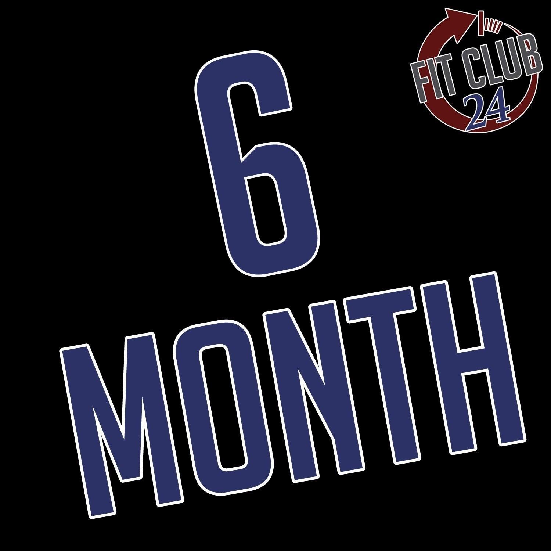 6 Month Membership Agreement