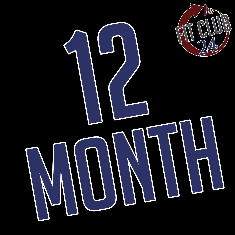 12 Month Membership Agreement