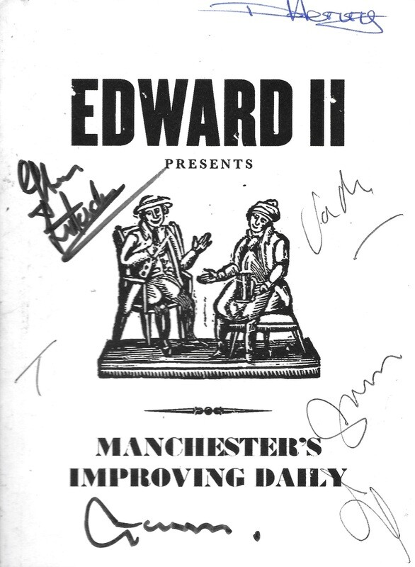 Manchester's Improving Daily SIGNED CD