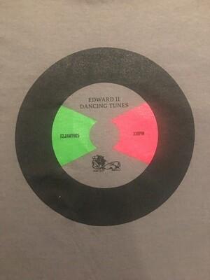 Charcoal Grey T-shirt and Dancing Tunes CD Bundle