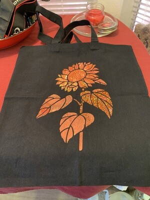 Sunflower Canvas Bag