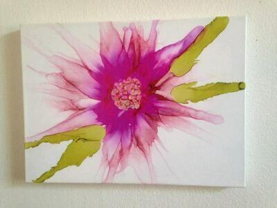 Floral Canvas Print, Large