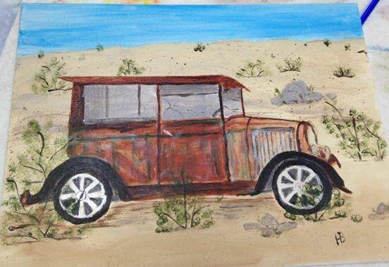 9x12 Acrylic Painting