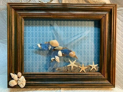 Etched Glass Starfish