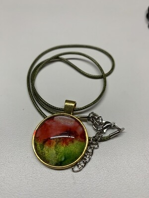 Alcohol Ink Pendant