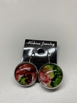 Alcohol Ink Earrings
