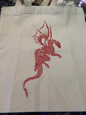 Dragon Canvas Bag