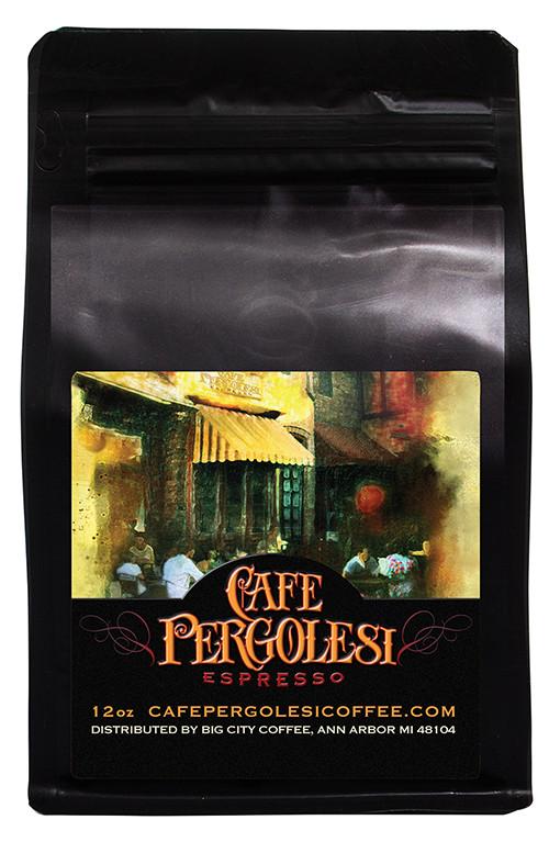 Cafe Pergolesi Organic Espresso