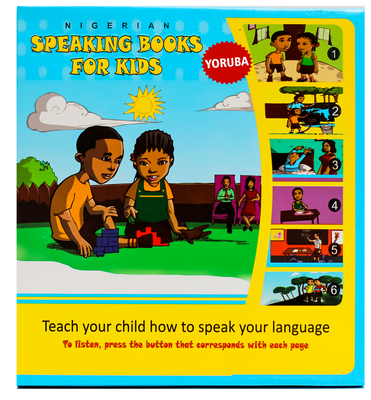 YORUBA SPEAKING BOOKS FOR KIDS