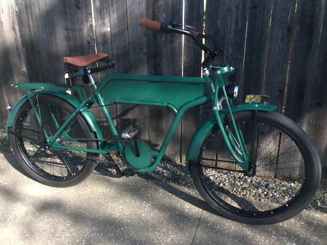 Custom Bikes - Sergeant Sterling (Green)