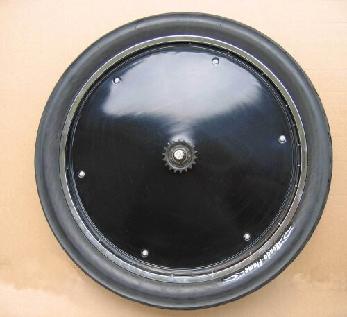 "Wheel Parts; Wheel Discs, 29"", Black"