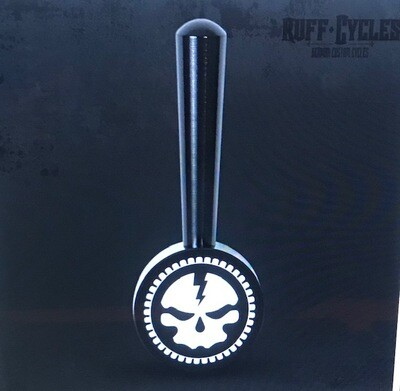 Black RUFF Cycles Skully Suicide Shifter