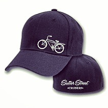 Apparel; Sutter Street Cruisers 2-sided FlexFit Cap