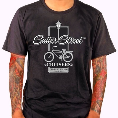 Apparel; Sutter Street Cruisers Men's T-Shirt