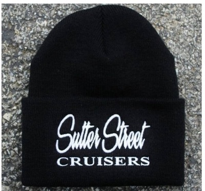 Apparel; Sutter Street Cruisers Traditional Beanie