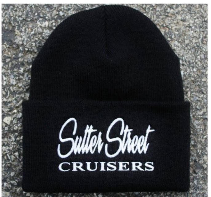 Apparel; Sutter Street Cruisers Traditional Beanie