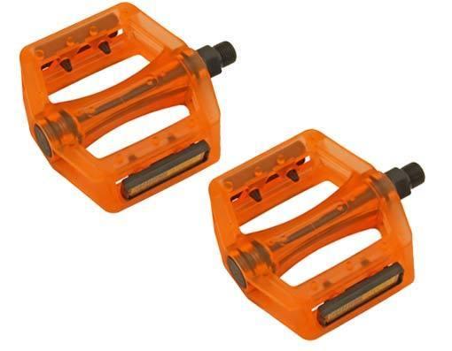 Pedals; Platform, Resin Gel Body, 9/16