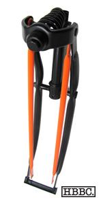 HBBC Black/Orange Springer Fork