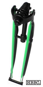 HBBC Black/Green Springer Fork
