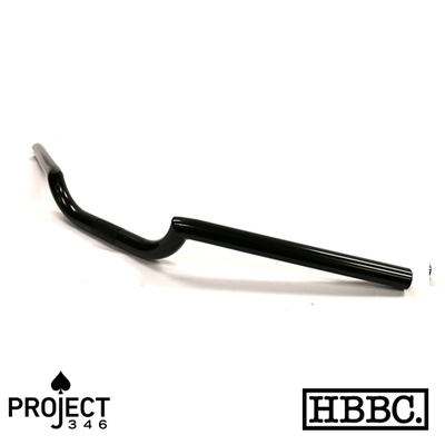 Handlebars; Project 346 Motorcycle Handlebar, Black