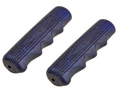 Grips; Rubber, Sparkle Blue