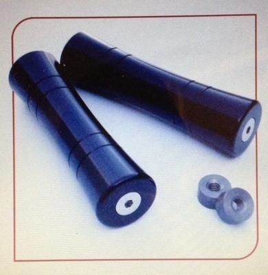 Grips; BoxKars Aluma-Spool Grips, Black