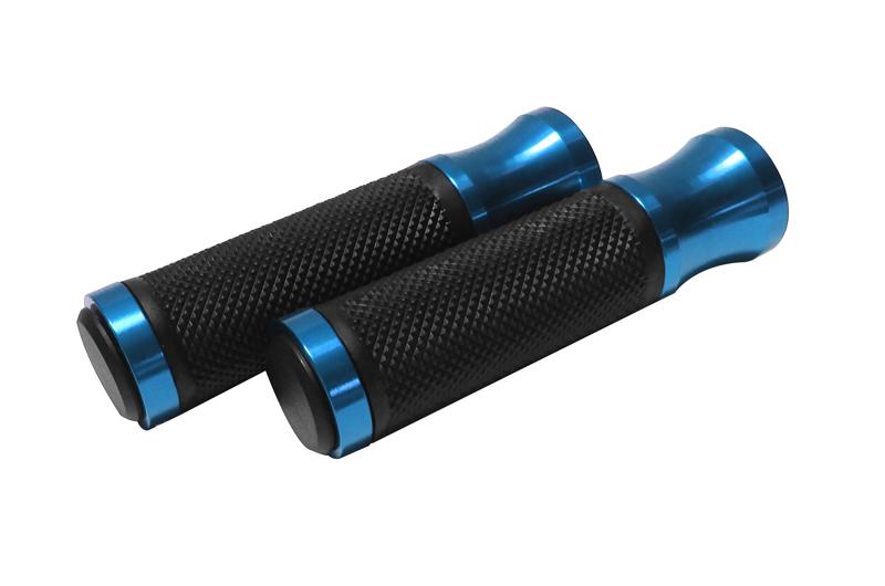 Grips; Blue 3G Major Fixie Grips