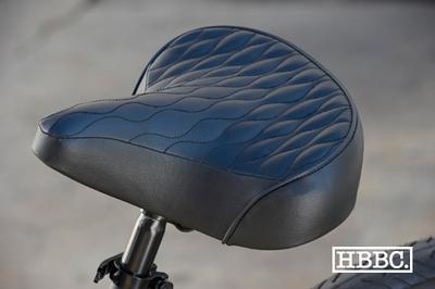 HBBC Quilted Seat Black