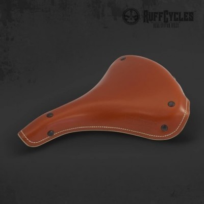 RUFF Cycles Leather Seat Brown