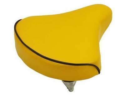 Beach Cruiser Saddle, Yellow
