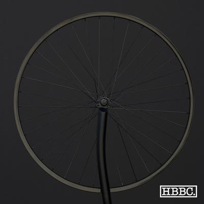HBBC Single Speed Wheel Set, Black