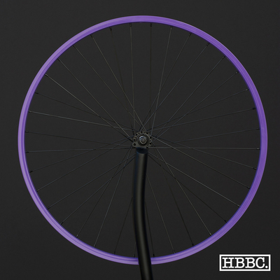 HBBC Single Speed Wheel Set, Purple