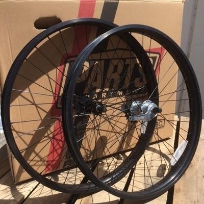 HBBC 50mm Three Speed Wheel Set, Black