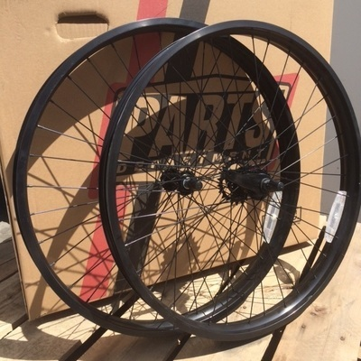 HBBC 50mm Single Speed Wheel Set, Black