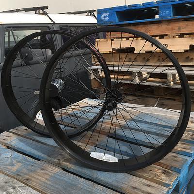 HBBC 80mm Three Speed Wheel Set, Black