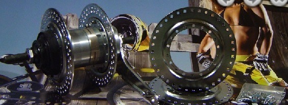 Wheel Parts; Project 346 144-spoke Flange Adapters