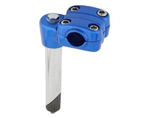 Stem; 21.1mm Alloy, Blue