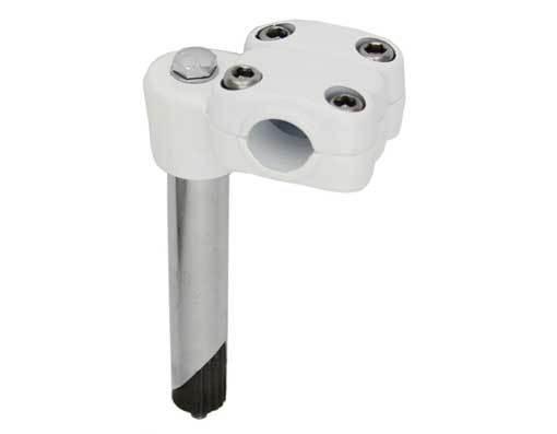 Stem; 21.1mm Alloy, White