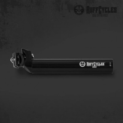 RUFF Cycles 31.8mm Black Seat Post