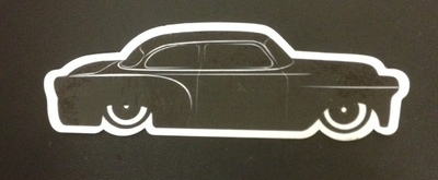 Stickers; Daddy-O Customz '54 Chevy Coupe