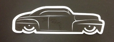 Stickers; Daddy-O Customz '46 Ford Lead Sled
