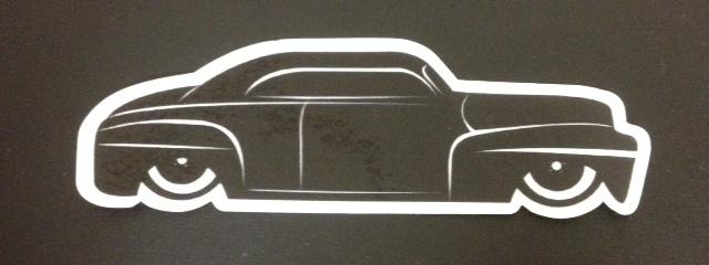 Stickers; Daddy-O Customz '46 Ford Lead Sled