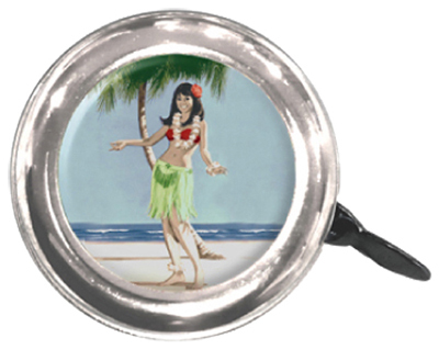 Bells; Lever-Action, Swell Bell Hula Girl
