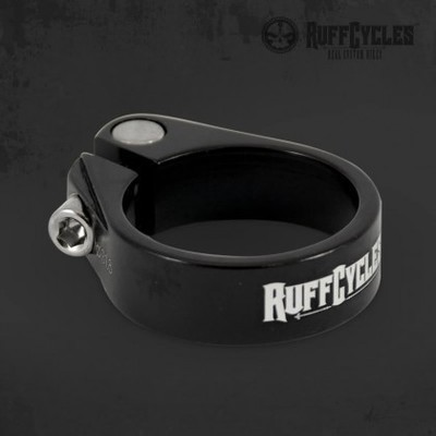 RUFF Cycles 31.8mm Seat Post Clamp, Black